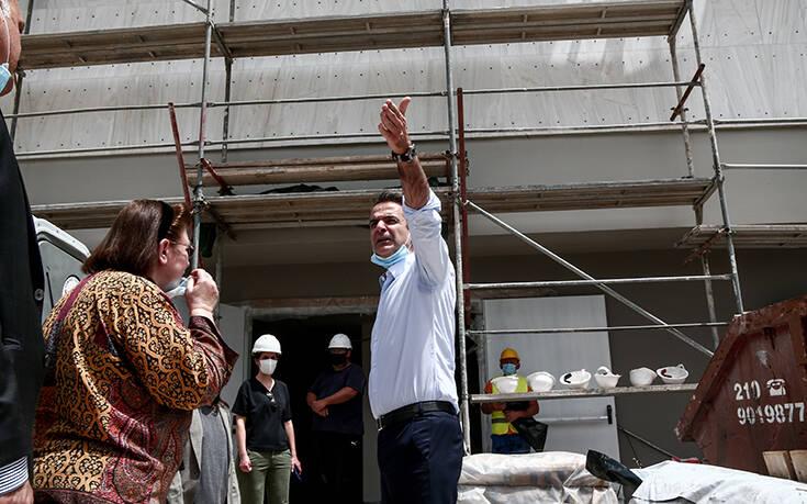 Επίσκεψη Μητσοτάκη στη νέα Πινακοθήκη: Εμβληματικό σημείο αναφοράς για τον πολιτισμό