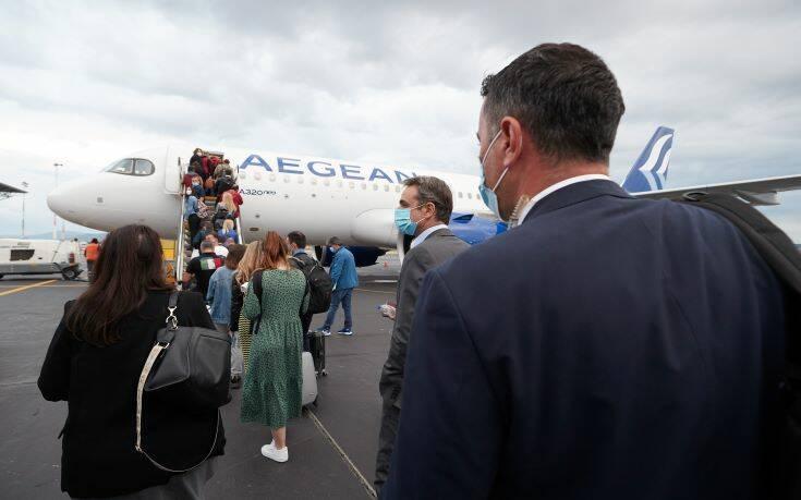 Ο Μητσοτάκης ξεκινά τουριστική καμπάνια με το βλέμμα σε Γερμανία και Βαλκάνια