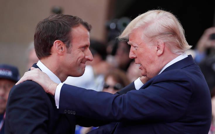 Δια ζώσης και άμεσα η σύνοδος του G7 συμφώνησαν Τραμπ και Μακρόν