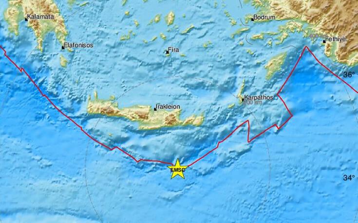 Χουλιάρας: Καμία ανησυχία για τον νέο σεισμό στην Κρήτη