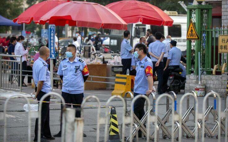 Προσωρινό λουκέτο σε αγορά χονδρικής στο Πεκίνο λόγω νέων κρουσμάτων κορονοϊού