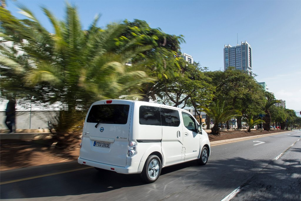 Nissan e-NV200:To αμιγώς ηλεκτροκίνητομηδενικών εκπομπών ρύπωνβαν