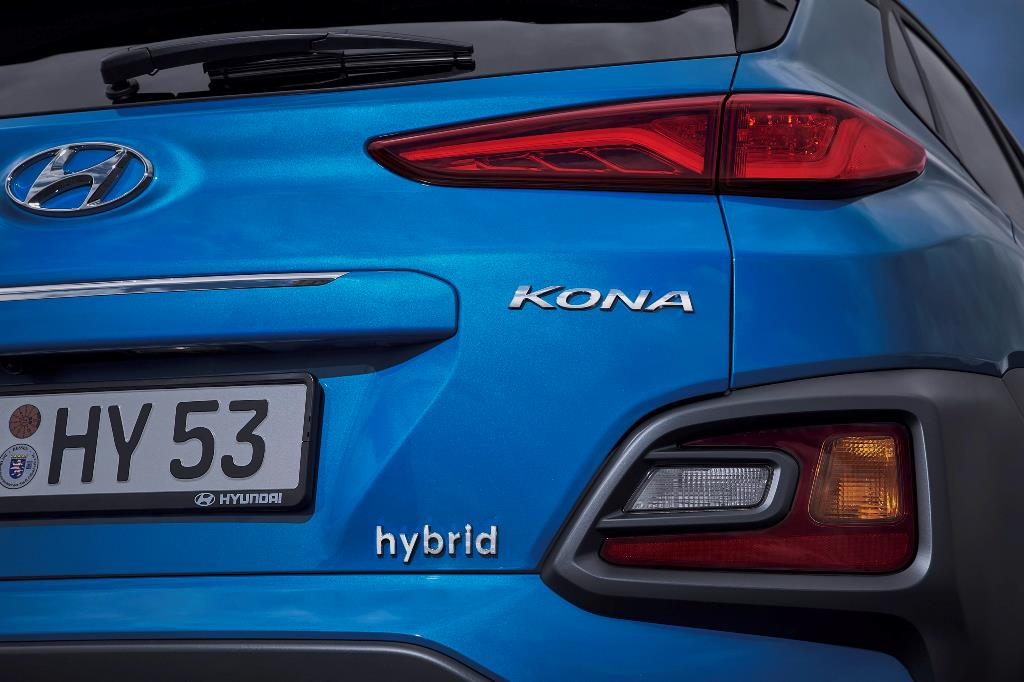 Υβριδική και αυτόματη τεχνολογία στο νέο Hyundai KΟΝΑ Hybrid 1.6 141ps