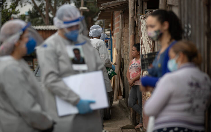 Πάνω από 42.000 οι νεκροί από κορονοϊό στην Βραζιλία, 850.514 τα κρούσματα