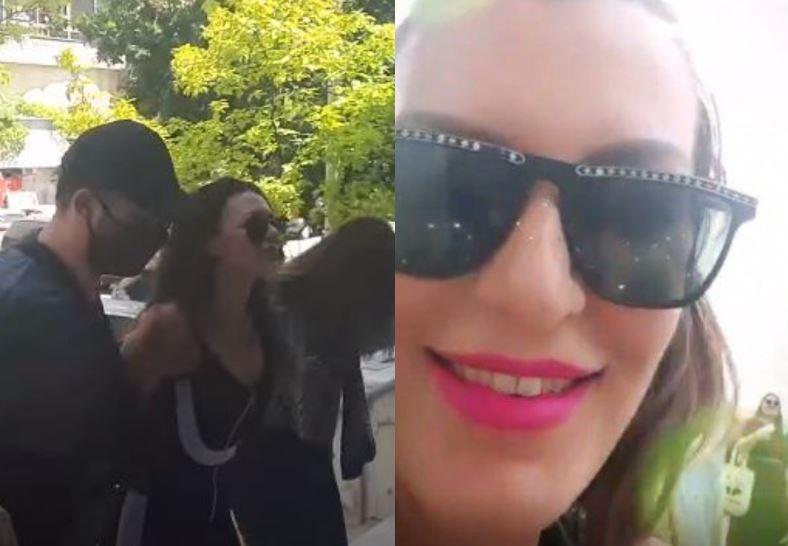 Στον εισαγγελέα η Θεσσαλονικιά παρουσιάστρια που πέταξε νερό στον Χαρδαλιά (βίντεο)