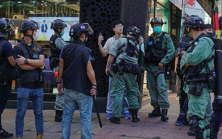 Κίνα: Συλλήψεις 53 διαδηλωτών στο Χονγκ Κονγκ