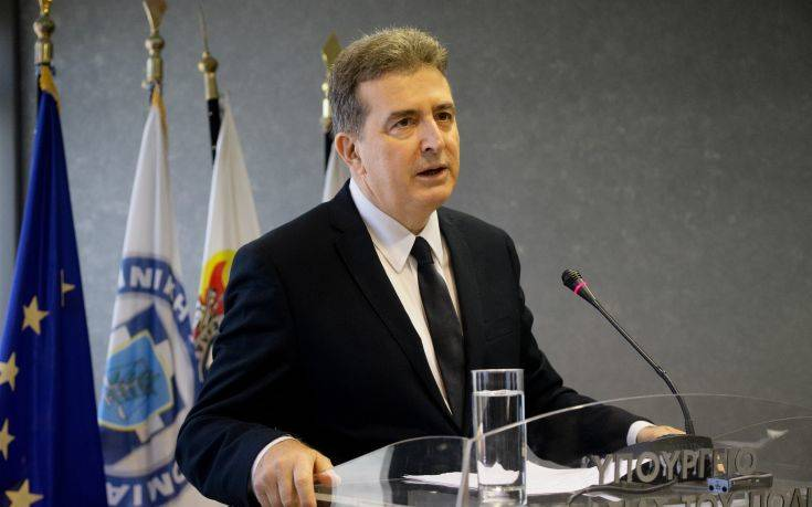 Μιχάλης Χρυσοχοΐδης: «Η δουλειά που γίνεται από την αστυνομία είναι εξαιρετική»