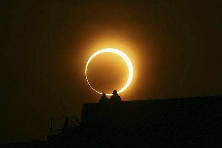 Δακτυλιοειδής έκλειψη ηλίου την Κυριακή: Πώς μπορείτε να την παρακολουθήσετε