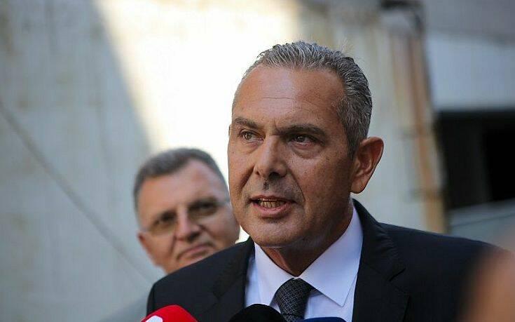 Καμμένος: «Ο Παπαγγελόπουλος υποχρεούται να διαψεύσει όσα ψεύδη ισχυρίστηκε, αλλιώς θα προσφύγω στη δικαιοσύνη»