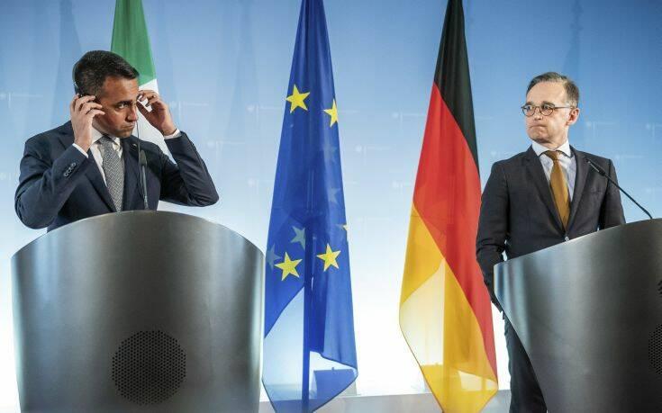 Ντι Μάιο: Δεν μπορούμε να δεχθούμε συμβιβασμούς που θα ζημιώσουν το μέλλον της Ευρώπης