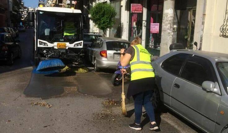 Κυριακάτικες δράσεις καθαριότητας από το Δήμο Αθηναίων στο Νέο Κόσμο