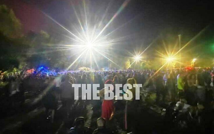 Υπαίθριο πάρτι 2.000 ατόμων στην Πλαζ της Πάτρας χωρίς μέτρα προφύλαξης λόγω κορονοϊού