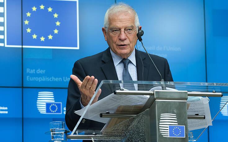 Ενίσχυση της επιχείρησης «Ειρήνη» ζήτησε από την Ε.Ε. ο Μπορέλ