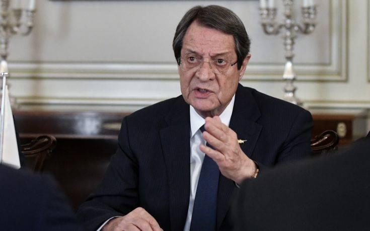Στήριξη από την Ισπανία κατά των έκνομων τουρκικών ενεργειών, ζήτησε ο Αναστασιάδης