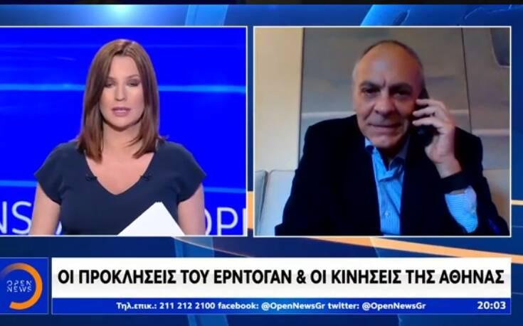 Σύμβουλος εθνικής ασφαλείας του Μητσοτάκη: Αν χρειαστεί θα δράσουμε στρατιωτικά απέναντι στην Τουρκία