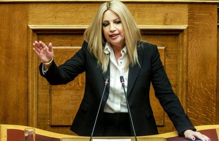 Φώφη Γεννηματά: Δεν αρκούν οι δηλώσεις. Μόνο οι κυρώσεις θα φέρουν αποτέλεσμα για την επιθετικότητα της Τουρκίας