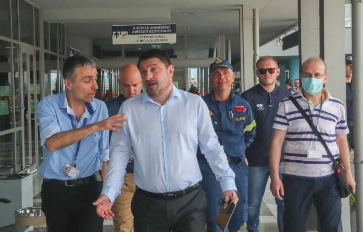 Χαρδαλιάς: Προχωράμε τις ετοιμασίες για την υποδοχή πτήσεων εξωτερικού στο «Μακεδονία» –  Ξεκινάμε με 29 χώρες
