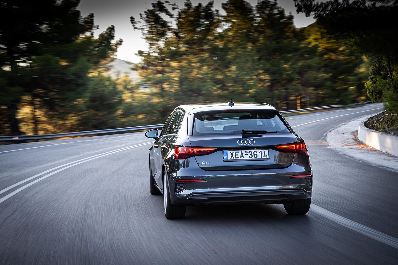 Το Audi A3 Sportback 4ης γενιάς δείχνει τα «δόντια» του με το δυναμικό σχεδιασμό και το sport DNA