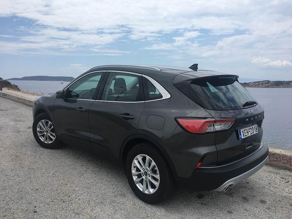 Δοκιμάζουμε το νέο Ford Kuga στην έκδοση Titanium με τον πετρελαιοκινητήρα 1.5 που αποδίδει 120 ίππους