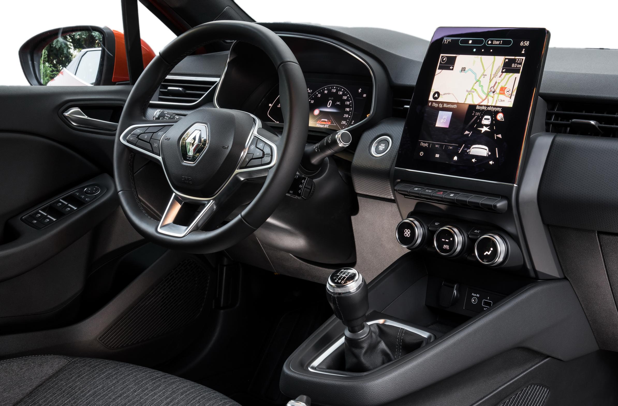 Άμεσα διαθέσιμο το νέο Renault CLIO με τον κινητήρα diesel 1.5 Blue dCi 85hp
