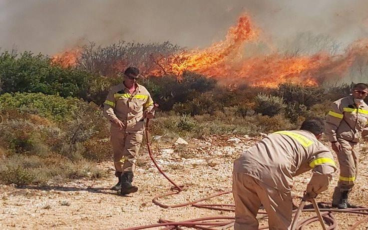 Χωρίς ενεργό μέτωπο η πυρκαγιά στις Σάπες – Σε εξέλιξη η επιχείρηση κατάσβεσης