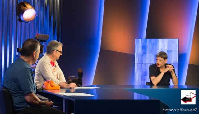 Απόψε στην εκπομπή «Αυτός και ο Άλλος»: Καλεσμένος ο Μιχάλης Ρακιντζής (trailer+photo)