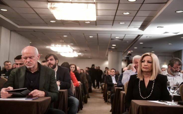 Εξελίξεις στο ΚΙΝΑΛ: Οργή Γεννηματά για Παπανδρέου-Καστανίδη, συγκαλείται η Κοινοβουλευτική Ομάδα