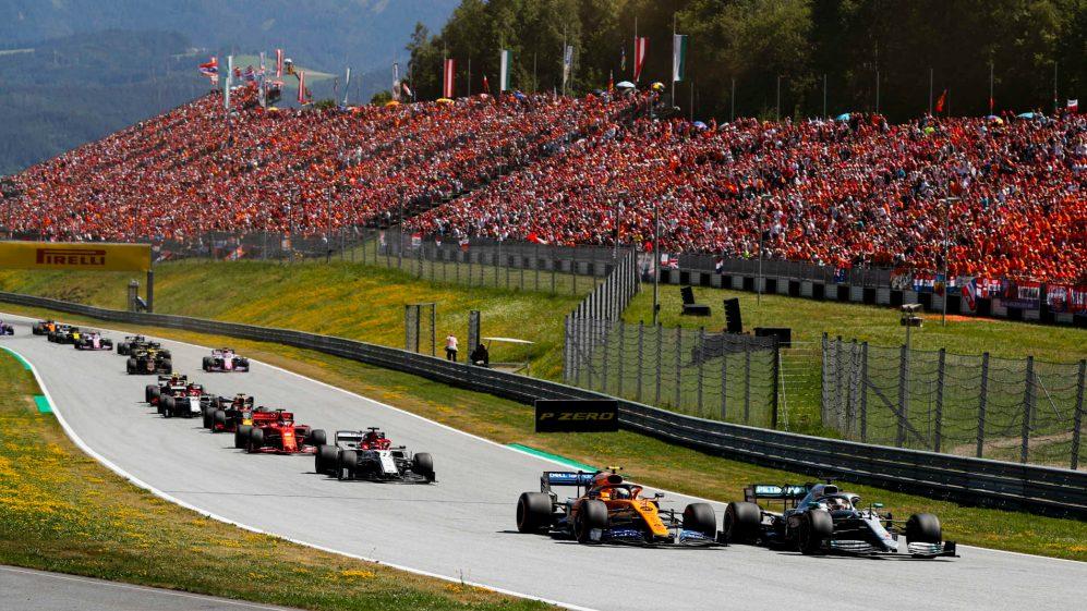 Εντυπωσιακός αγώνας στη F1 στο Γκραν Πρι Αυστρίας