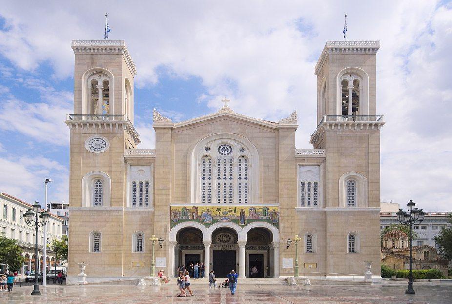 Ακάθιστος Ύμνος στη Μητρόπολη από τον Αρχιεπίσκοπο Ιερώνυμο την ώρα που η Αγιά Σοφιά θα γίνεται τζαμί