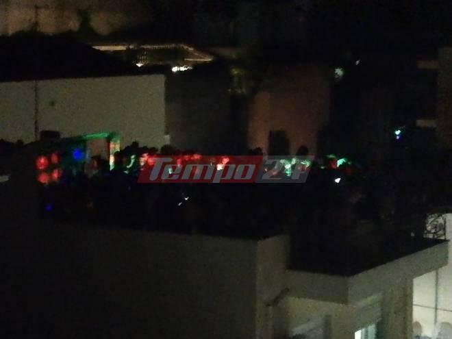 Πάτρα: Πάρτι σε ταράτσα με πάνω από 100 άτομα και χωρίς προφυλάξεις