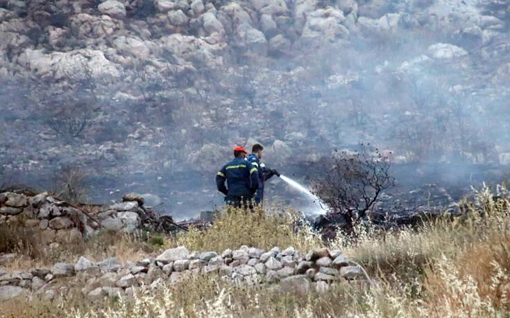 Φωτιά τώρα στο Ωραιόκαστρο Θεσσαλονίκης – Η πυρκαγιά είναι στα όρια οικισμού