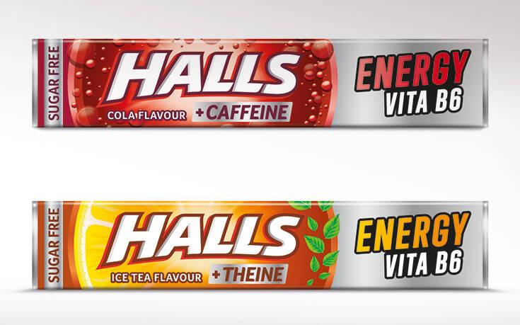 Οι νέες Halls Energy με βιταμίνη Β6 ήρθαν για να εκτοξεύσουν την ενέργειά σου στα ύψη