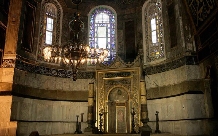 Πώς θα μετατραπεί η Αγία Σοφία σε τζαμί ενόψει της πρώτης προσευχής στις 24 Ιουλίου