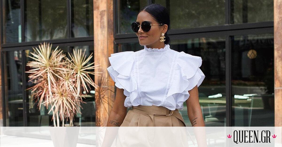 Fashion DIY: Μετάτρεψε το πουκάμισό σου σε ruffle sleeve top (video)