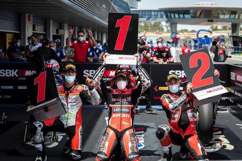 WorldSBK: Σαββατοκύριακο επιτυχιών για τη Ducati