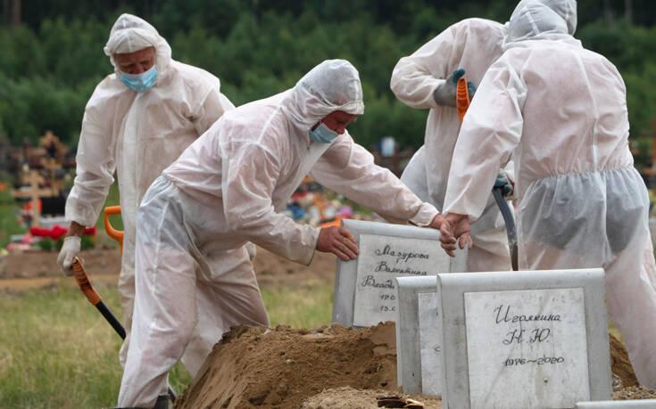 Ξεπέρασαν τις 907.000 οι μολύνσεις στη Ρωσία – Ο τέταρτος υψηλότερος αριθμός κρουσμάτων στον κόσμο