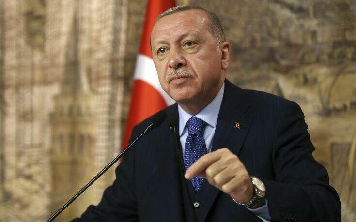 Νέα προκλητική δήλωση Ερντογάν: Αν η Ελλάδα συνεχίσει τις προκλήσεις θα απαντήσουμε με πολλαπλάσιο τρόπο
