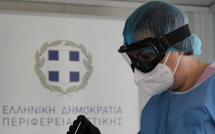 Ο «χάρτης» του κορονοϊού στην Ελλάδα – Νέα θλιβερή αύξηση των κρουσμάτων σε Αττική