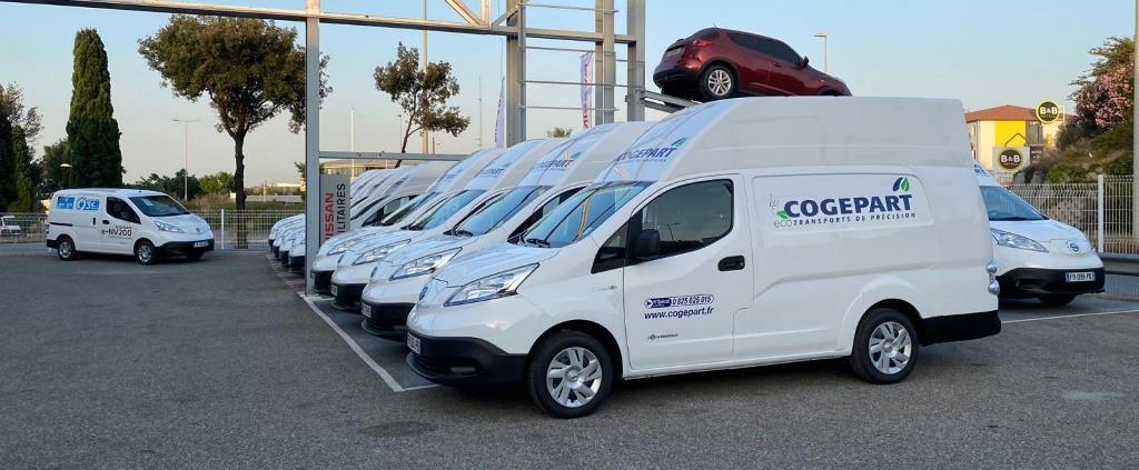 Η Nissan παρέδωσε 10 αμιγώς ηλεκτρικά e-NV200 XL Voltia στη γαλλική εταιρεία μεταφορών Cogepart