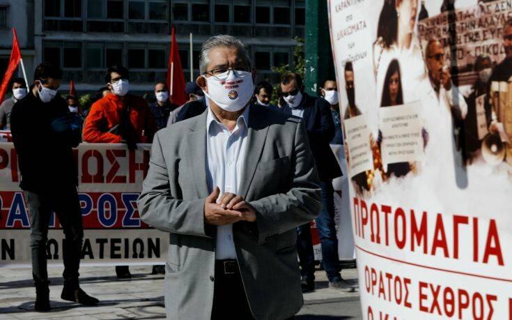 ΚΚΕ: Στις εκδηλώσεις μας τηρούνται όλα τα απαραίτητα μέτρα προστασίας