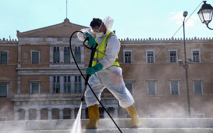 Δήμος Αθηναίων: Απολυμάνσεις με καυτό νερό στους 100 βαθμούς Κελσίου