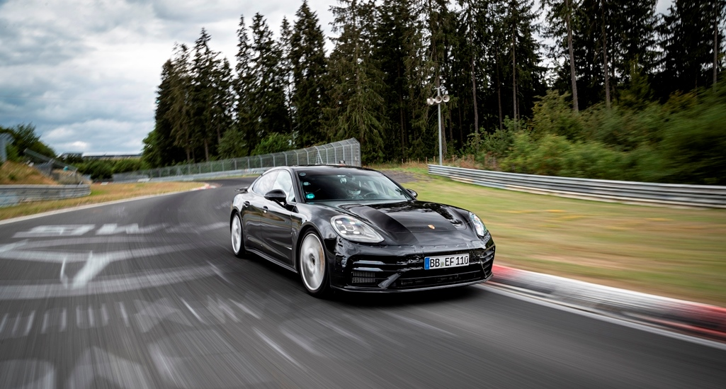 Ρεκόρ γύρου στο Nurburgring για την Porsche Panamera με τα ελαστικά MICHELIN Pilot Sport Cup 2