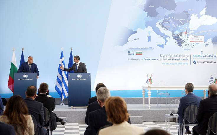 Ο τερματικός σταθμός LNG της Αλεξανδρούπολης μειώνει την ενεργειακή εξάρτηση της Ελλάδας από την Τουρκία