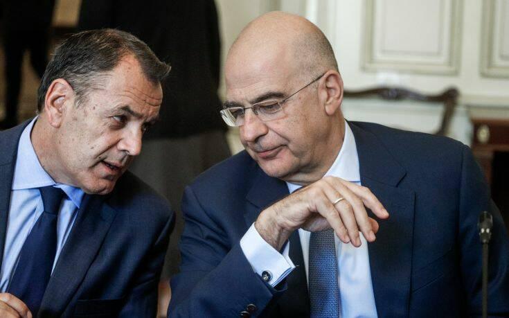 Συνεχίζονται οι διπλωματικές επαφές για τα ελληνοτουρκικά: Επικοινωνία Παναγιωτόπουλου με τη Γαλλίδα υπουργό Άμυνας