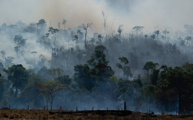 Ο εφιάλτης των πυρκαγιών επέστρεψε στον Αμαζόνιο