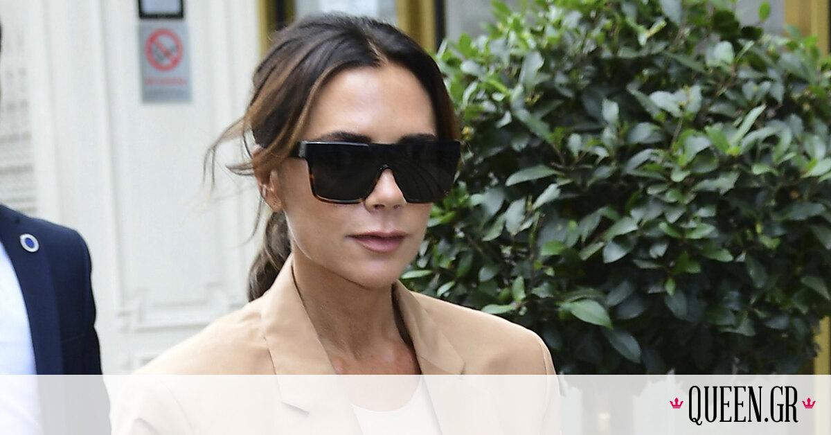 Το cool σύνολο της Victoria Beckham είναι ό,τι χρειάζεσαι τον Αύγουστο