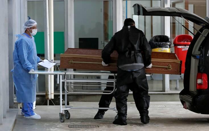 Ο κορονοϊός σφυροκοπά τη Βραζιλία: 1.437 θάνατοι και 57.152 κρούσματα σε 24 ώρες