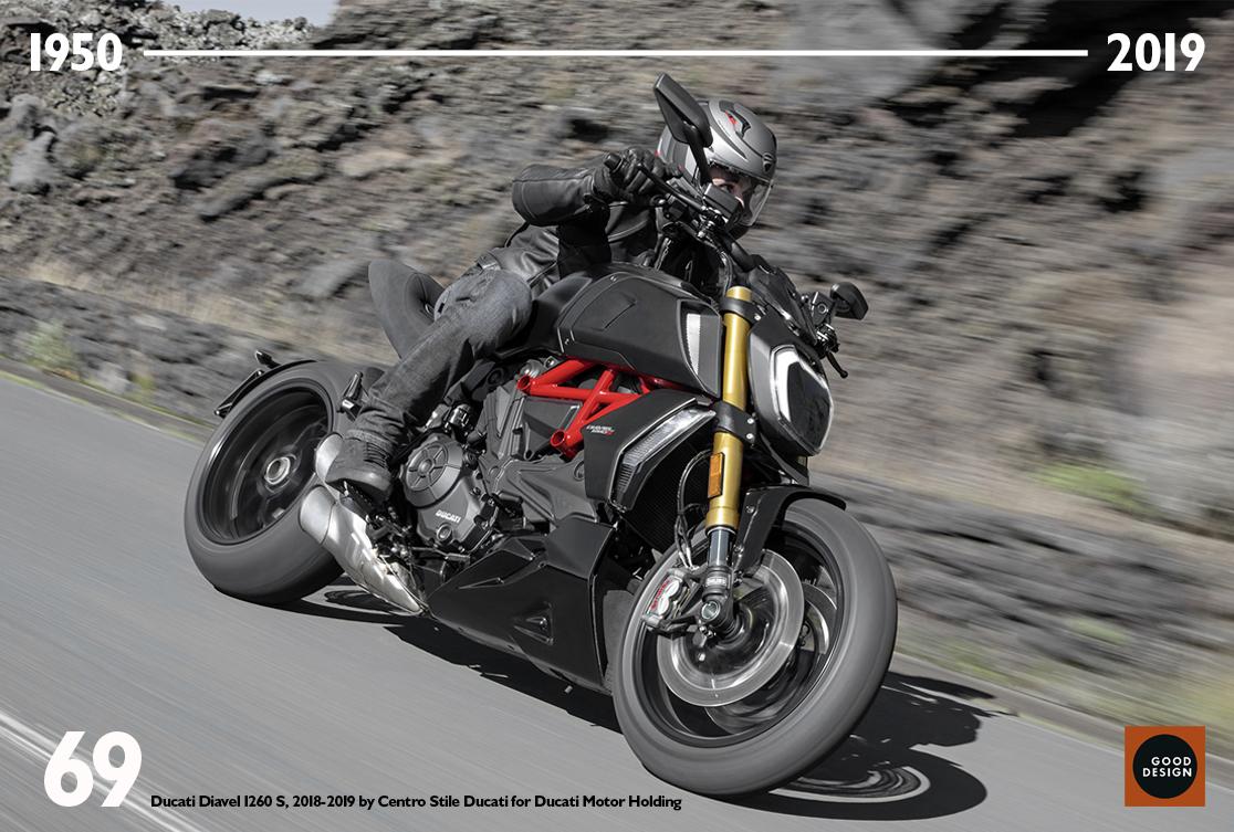 Ducati: Η Diavel 1260 στο Good Design Show Europe 2020