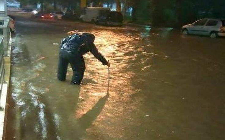 Πολλά προβλήματα στην Εύβοια λόγω των έντονων βροχοπτώσεων