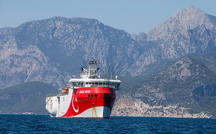 Συνεχίζουν τις προκλήσεις οι Τούρκοι: Νέα Navtex για το Oruc Reis έως τις 20 Σεπτεμβρίου